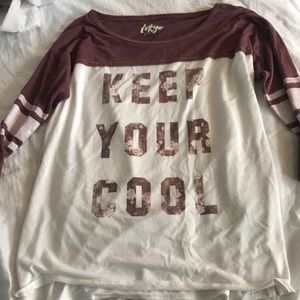"""""""Keep your cool"""" graphic tee"""